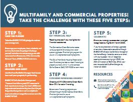 This is an image of the Energy Equity Challenge brochure for commercial properties.